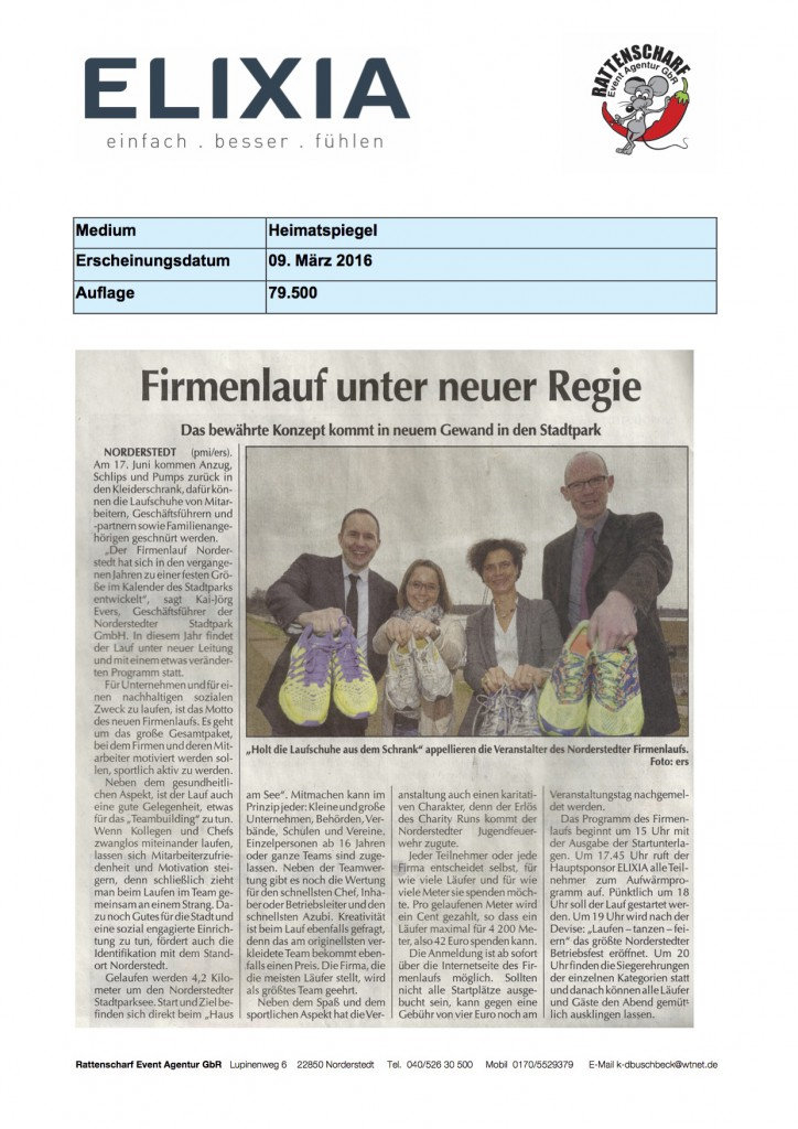 Heimatspiegel 9. März