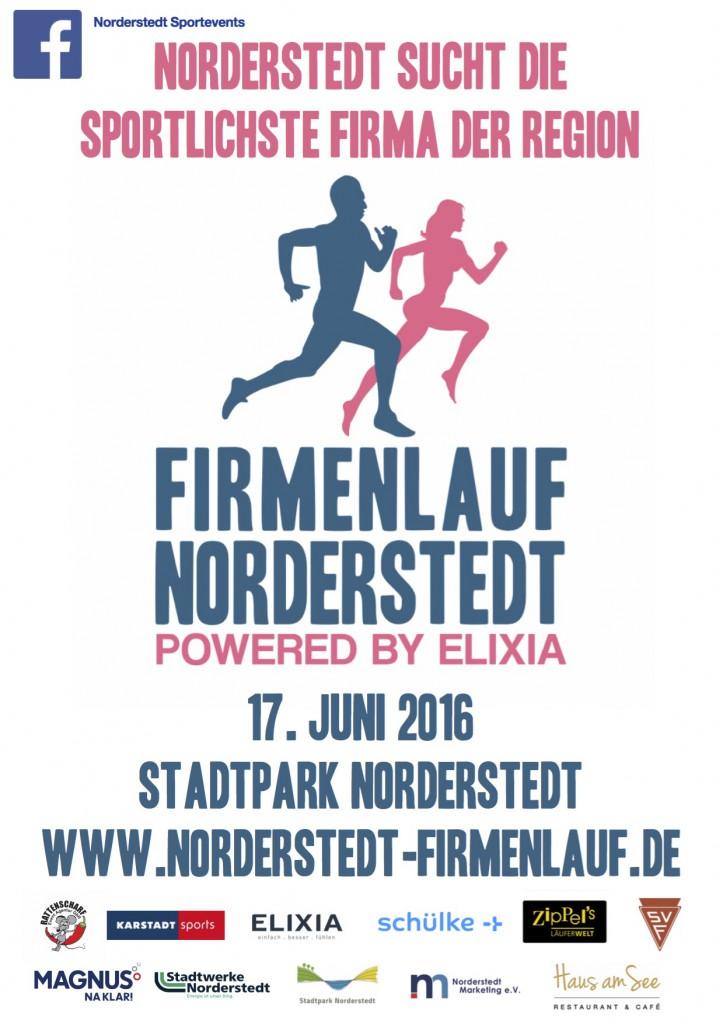 Plakat Firmenlauf 2016
